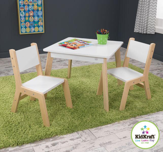 Table Moderne et ses deux chaises
