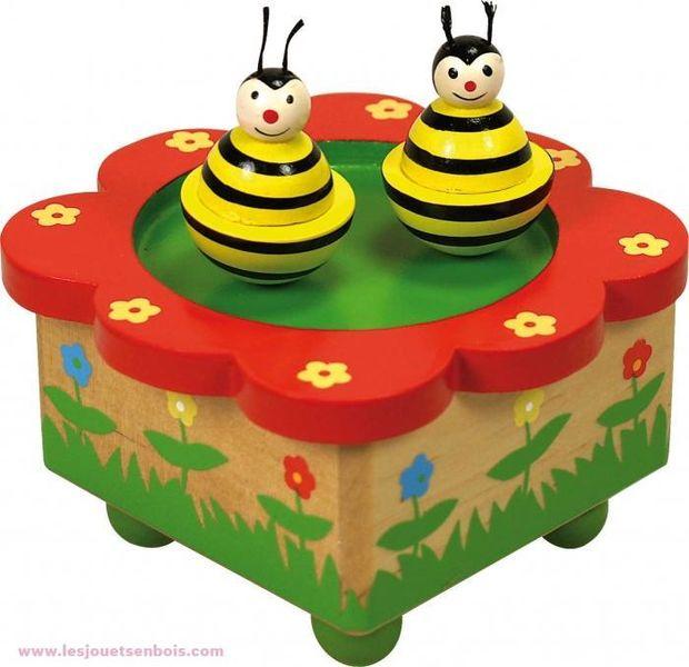 Boite À musique abeille