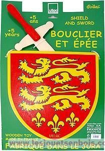 Bouclier Lions jaunes
