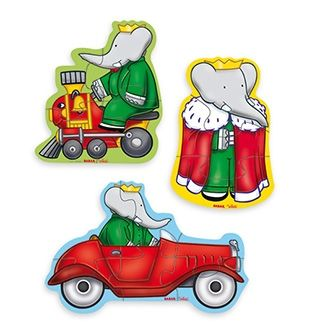 3 Puzzles babar