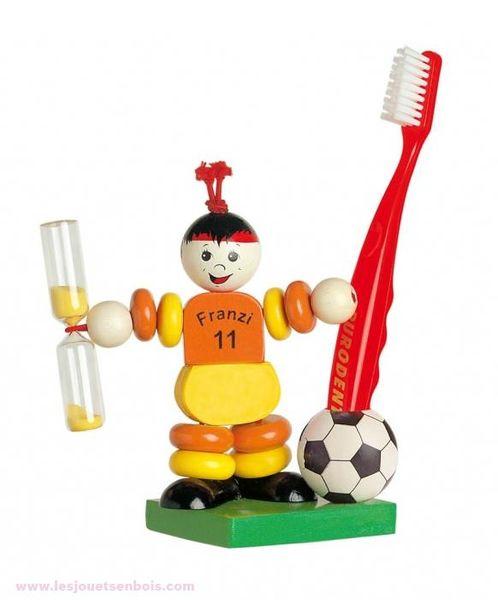 Porte Brosse à dents football
