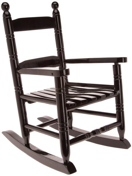 Rocking Chair noir