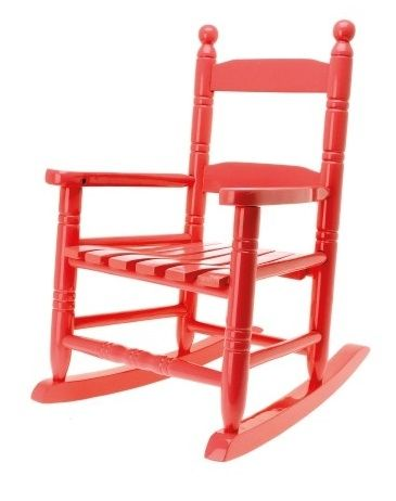 Rocking Chair rouge
