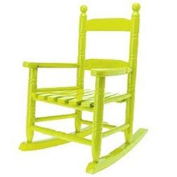 Rocking Chair jaune