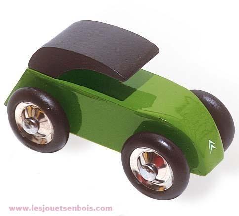 2cv Citroën verte