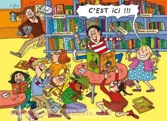 La Bibliothèque tom et nana