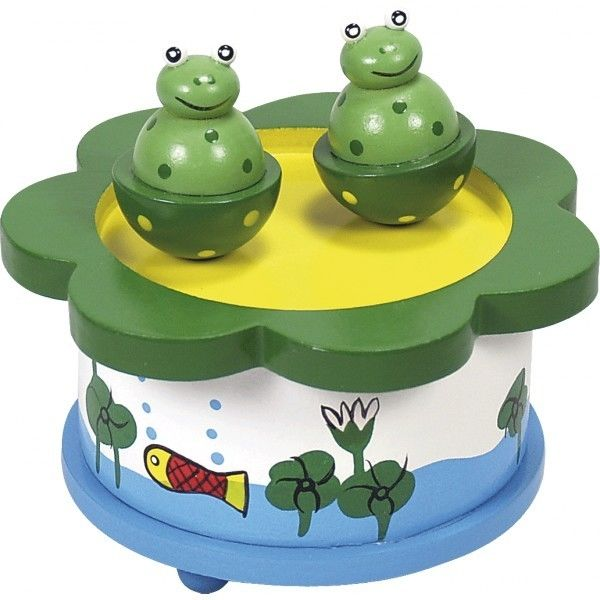 Boite À musique grenouille