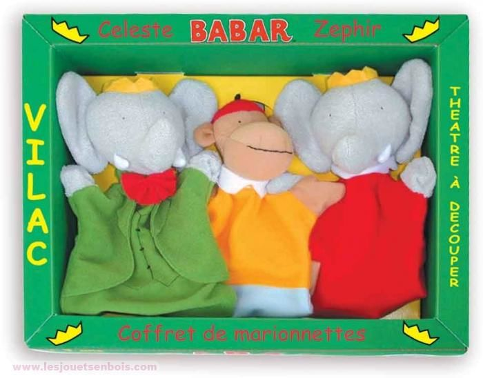 3 Marionnettes babar