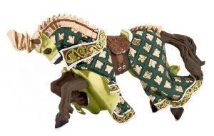 Cheval Du maître des armes cimier dragon