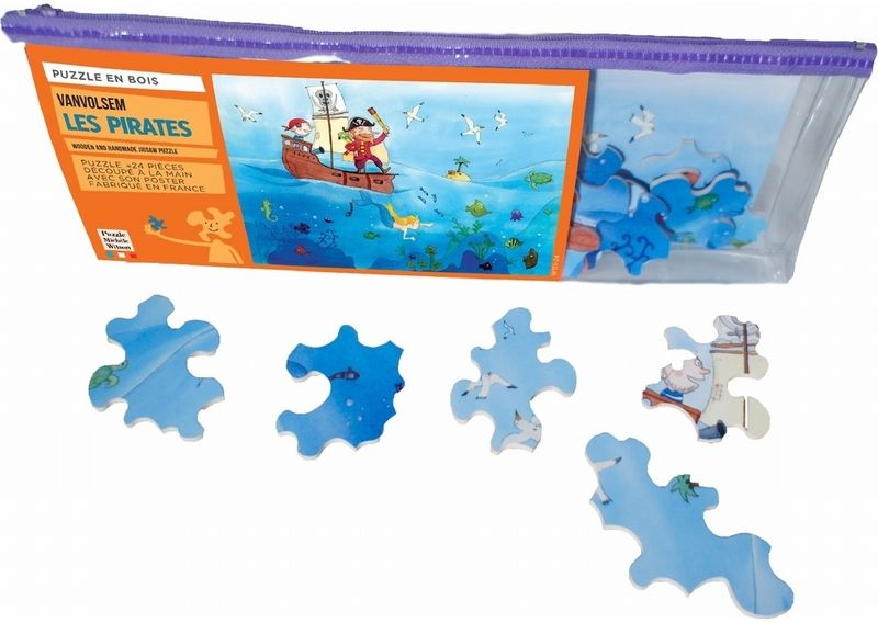 Puzzle d'art Les pirates