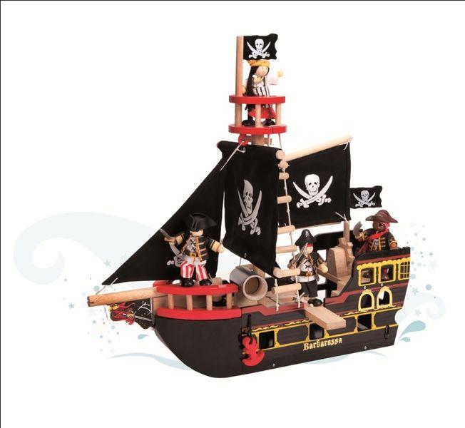Bateau Pirates barberousse