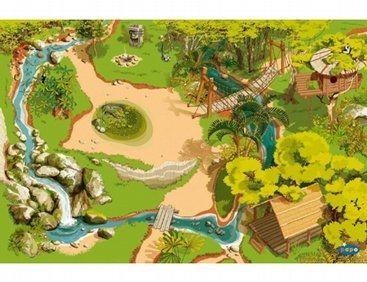 Tapis Jungle