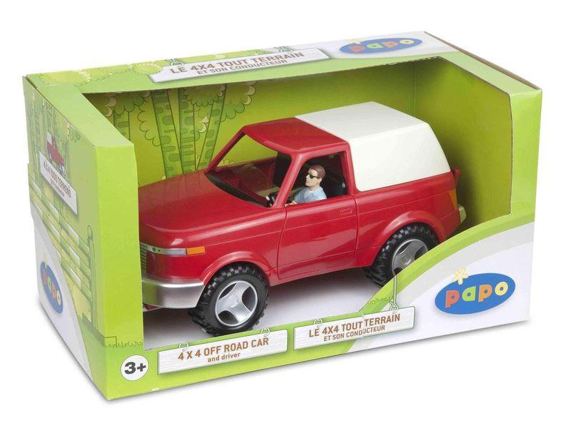 4x4 Tout terrain et son conducteur
