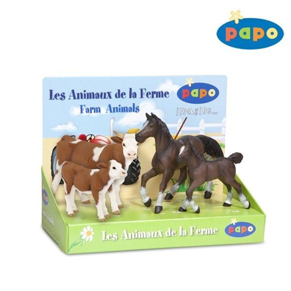 Set Vaches et chevaux