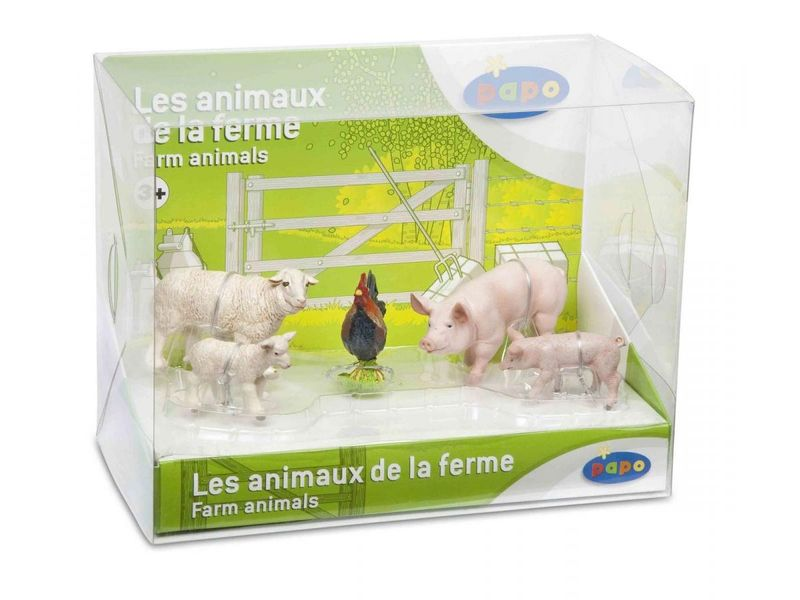 Boîte Animaux de la ferme