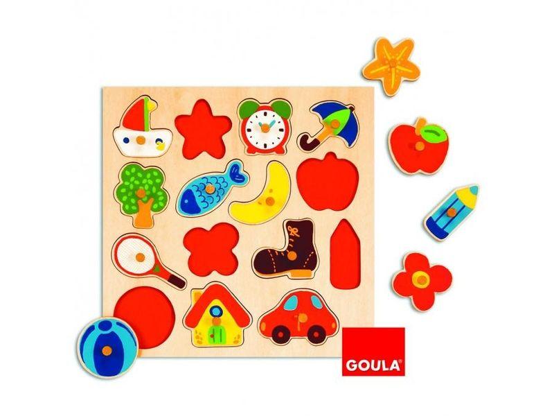 Puzzle 15 pièces premier âge