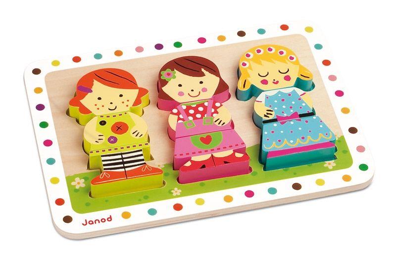 Puzzle 3d poupées