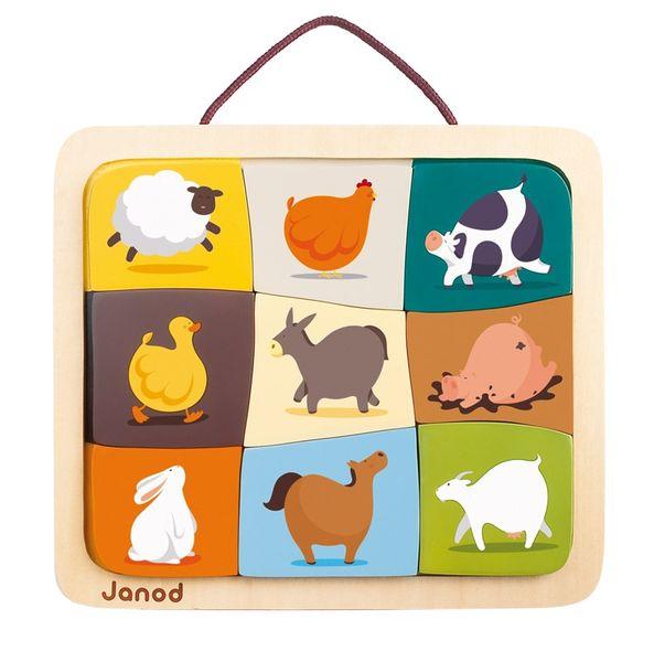 Puzzle Magnétique animaux de la ferme
