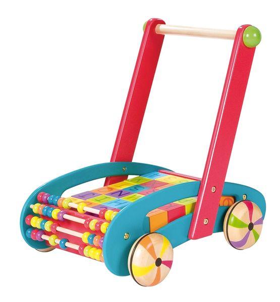Chariot de marche abc buggy bleu