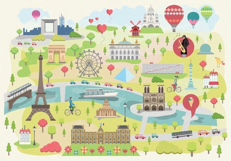 Paris Illustre de magda