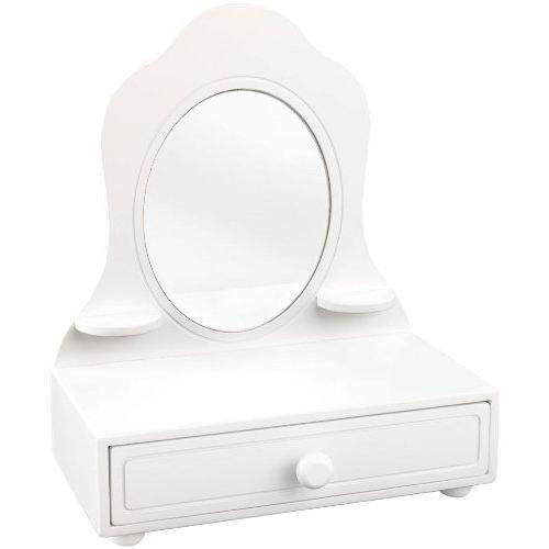 Coiffeuse de table blanche