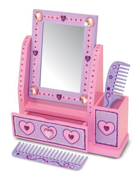 Ensemble Vanity miroir