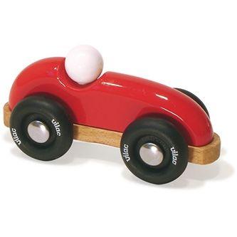 Voiture de course bolide rouge