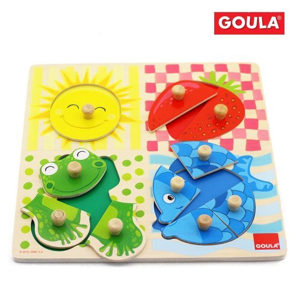 Puzzle 4 couleurs