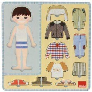 Puzzle Garçon et ses vêtements