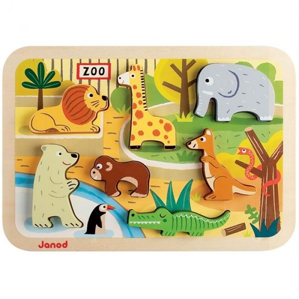 Chunky Puzzle 3d zoo