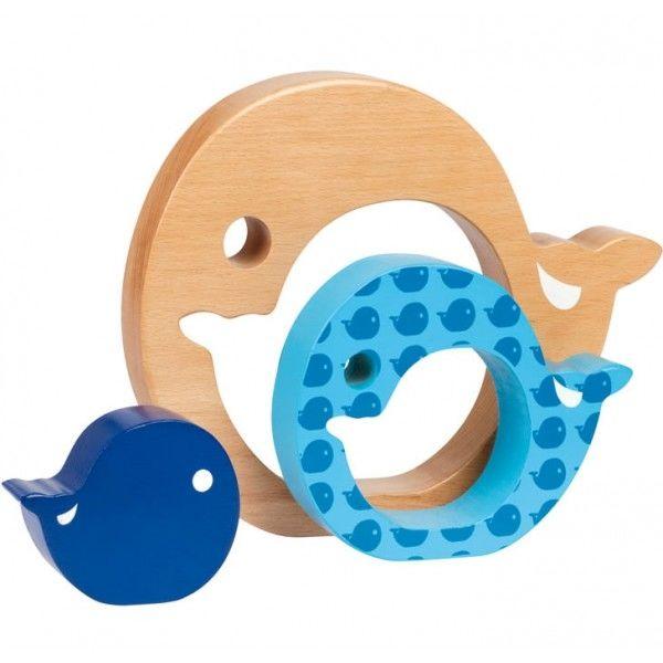 Encastrement 3 pièces bois: la baleine