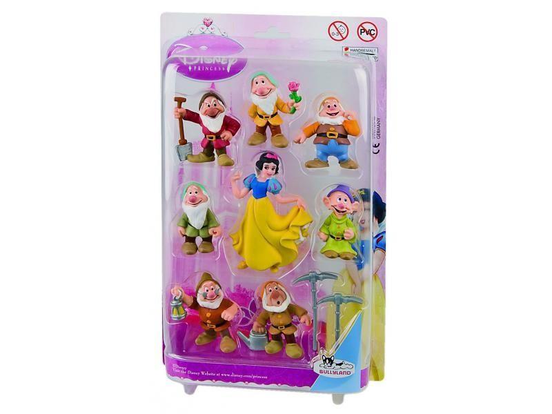 Blanche Neige carte blister 8 figurines