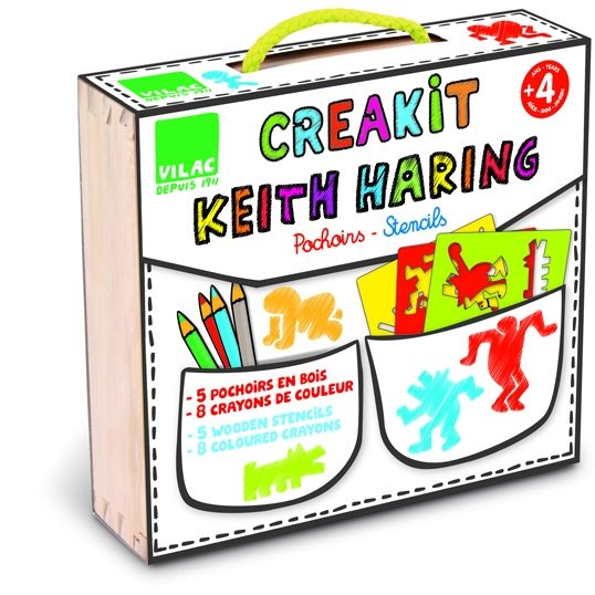 Pochoirs Créateur keith haring