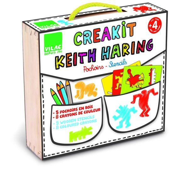 Pochoirs Créateur keith haring