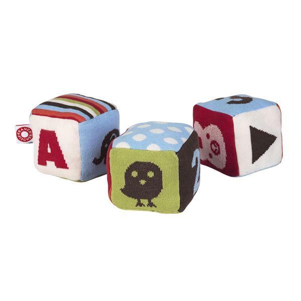 Cubes Tissu pour tapis de jeux