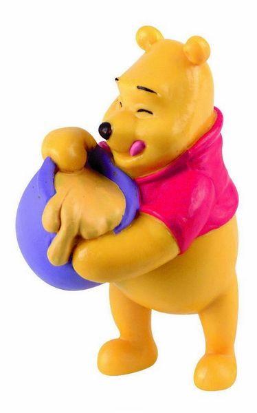 Winnie L'ourson avec son pot de miel