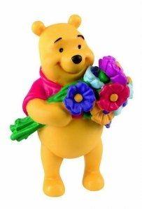 Winnie L'ourson avec fleurs
