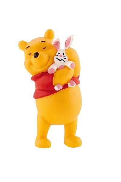 Winnie L'ourson avec lapin