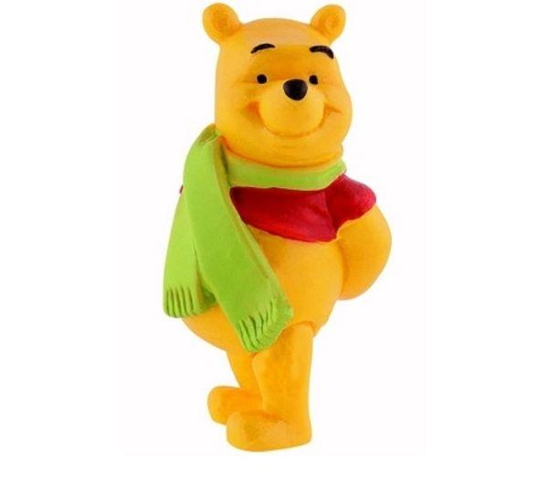 Winnie L'ourson avec écharpe