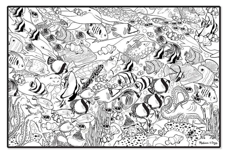 Colorier La vie marine tropicale