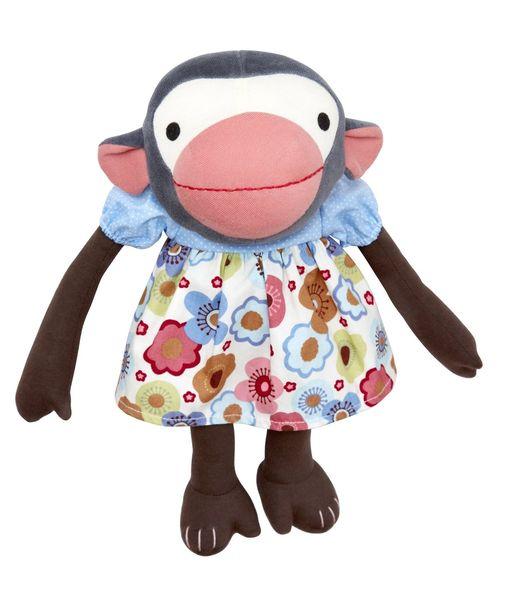 Frida Flower - poupée singe