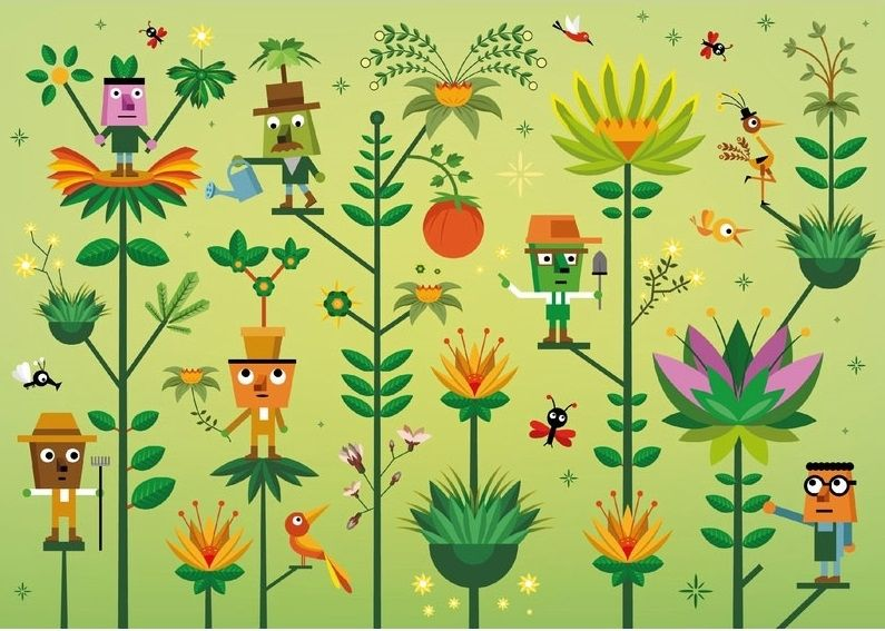 Le Monde végétal