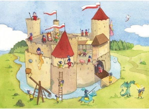 Panique Au château fort