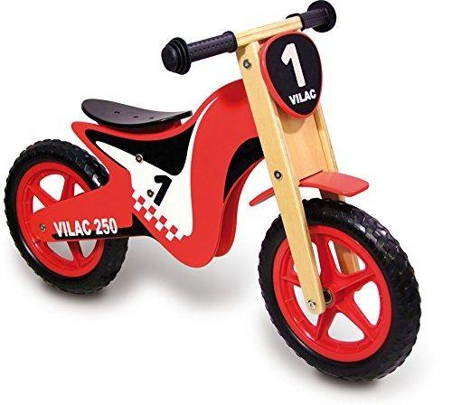 Moto Draisienne rouge