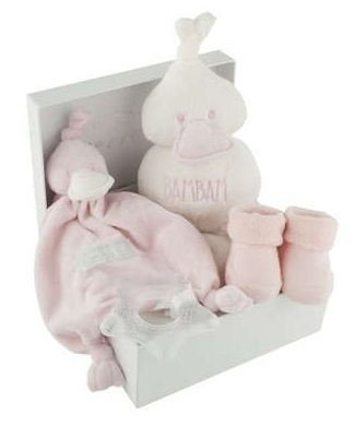 Boîte Cadeau de naissance, rose