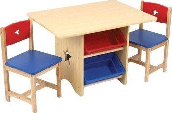 Table, Chaises et rangements