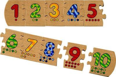 Grand puzzle de chiffres