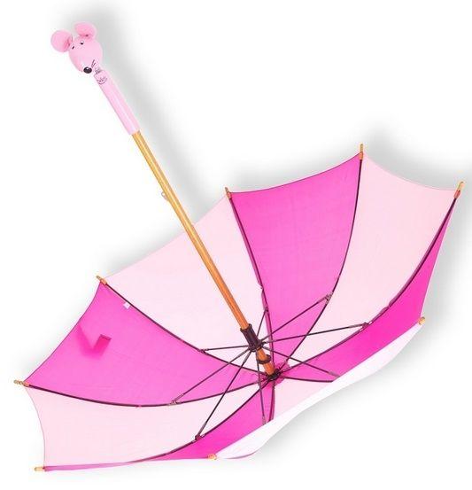 Parapluie Souris rose