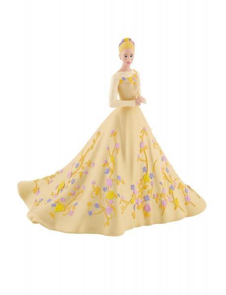 Cendrillon Avec une robe à fleurs