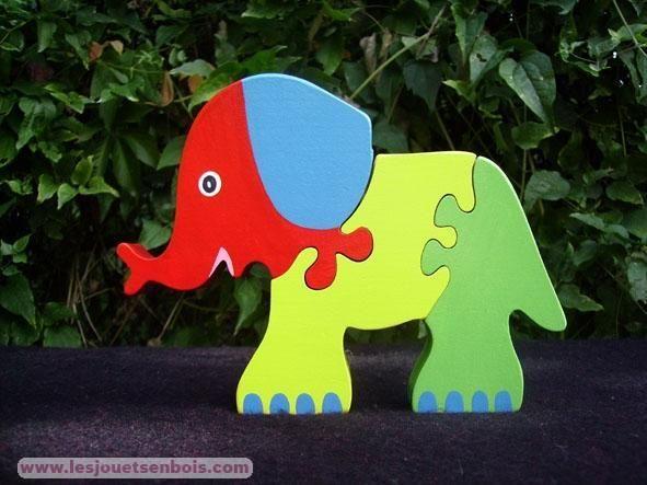 Puzzle Eléphant